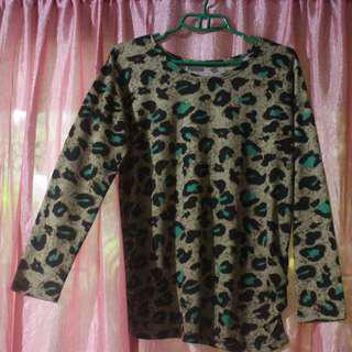 Leopard print long sleeves (Repriced)