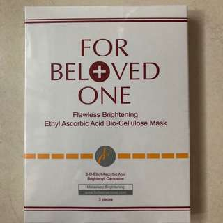 BN For Beloved One Flawless Brightening Ethyl Ascorbic Acid Bio-Cellulose Mask