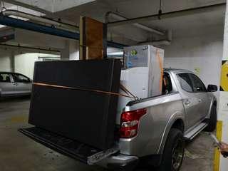 Pickup barang KL