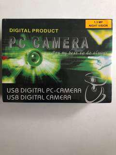1.3 mega pixel USB digital PC camera Webcam