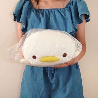 Mocchiizu micro beads plush chick. Authentic from Japan. 30CM long