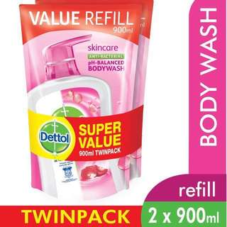 Dettol anti bacterial shower gel
