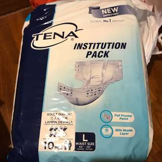 Tena Adult Diapers Size L (8 pieces)