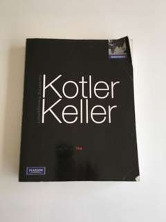 Kotler Keller Marketing theory book