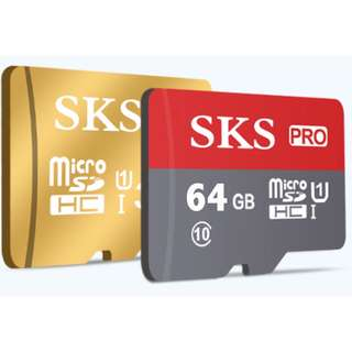 64GB Micro SD Card SDHC Memory Card 98M/S High Speed Class
