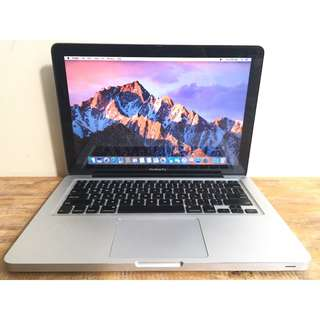 MACBOOK PRO 13 MD313 LATE 2011 Core I5 4GB 500GB CC 400 MULUS