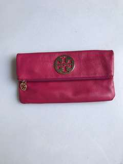 Tory Burch Real Leather Clutch