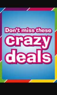 Crazy Deals!! All Further Marked Down ~ Send your interest ~ Order & Collect yours now!!