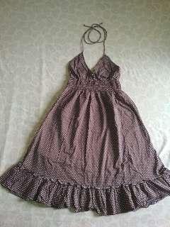 Freeway Halter dress