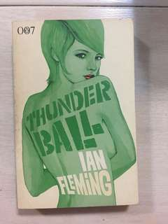James Bond. Thunderball by Ian Fleming