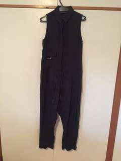 Designer summer or winter jumpsuit size M
