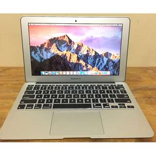 MACBOOK AIR 11 MD711 Early 2014 Core I5-4260u 4GB 128GB CC 100 MULUS
