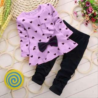 Peplum Set (Purple)
