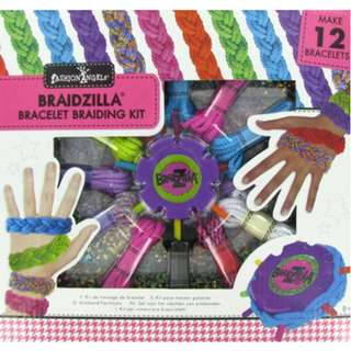 Braidzilla Bracelet Braiding Kit