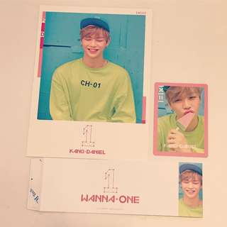 Wanna one Daniel set