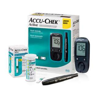 Accu-Chek Active Bundled with 50's test strips + 50's lancets [Local Stock]