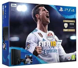 PS4 FIFA 18 Bundle + COD BO3