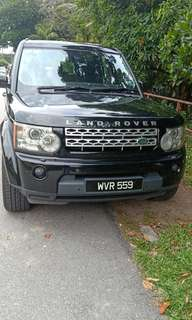 Land rover discavery 4