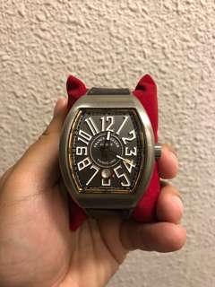 Franck Muller Vanguard - titanium and gold