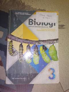 buku Biologi Erlangga kelas 12 / 3 SMA  kurikulum 2013