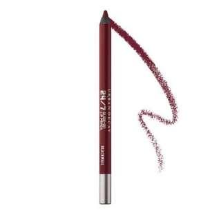 BNIB Urban Decay 24/7 Lip Pencil In Blackmail