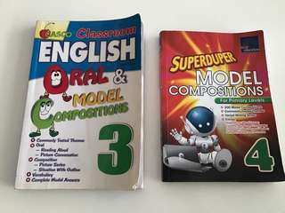 English oral/model compositions 3 &4