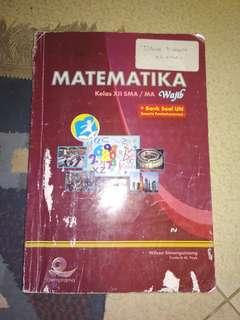 Buku Matematika Wajib PKS kelas 12 / 3 SMA Kurikulum 2013