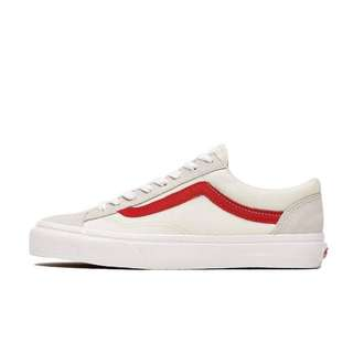 WTB Vans style 36 marshmallow racing red