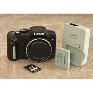 Canon Powershot SX170iS 16X Optical Zoom Camera