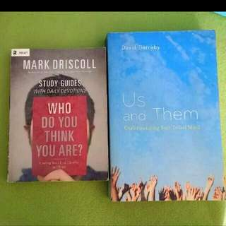 2 New Christian Books Who Do U Think U Are : Finding Your Identity In Christ Mark Driscoll / Us And Them U Understanding Your Tribal Mind By David Berreby #church Bevere Moments