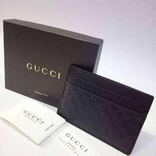 Gucci card wallet microguccisimma