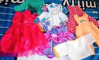 Asstd. Doll dress
