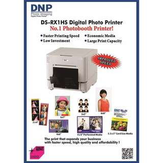 DNP PHOTOBOOTH PRINTER & CAMERA NIKON D3700