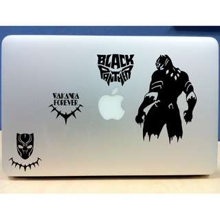 🚚 Black Panther Vinyl Stickers