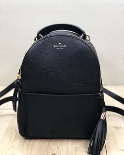 kate spade small bradley atwood place leather black size 22x28