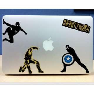 🚚 Avengers Vinyl Stickers