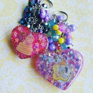 Rapunzel Keychain / Bag Charm