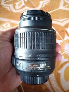 Nikon Kitlens 18-55mm