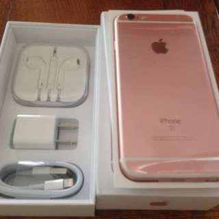 iPhone 6S Unlocked 32GB Rose Gold