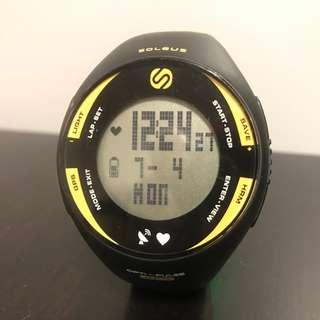 Soleus GPS PULSE + HRM 運動手錶