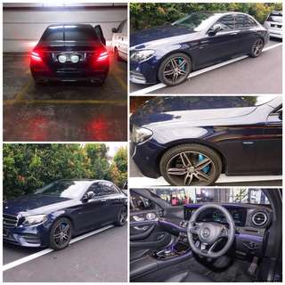 SAMBUNG BAYAR/CONTINUE LOAN  MERCEDES BENZ E350 AMG  YEAR 2017/2018 MONTHLY RM 4050 BALANCE 8 YEARS ROADTAX JAN 2019 TIPTOP CONDITION  DP KLIK wasap.my/60133524312/e350