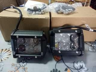 6Led Foglight 30watt and mounting clamp