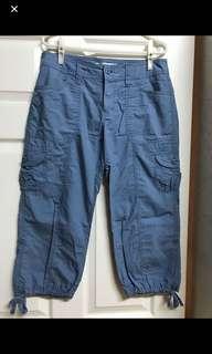 🚚 Lativ天空藍7分褲(可調整長度)