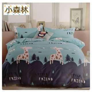 🚚 (雙人5尺薄床包三件式)現貨 舒柔棉 薄床包 磨毛 熱銷床包組 雙人/床包 床單~可挑款