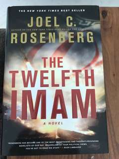 Hard Cover. The Twelfth Iman by Joel Rosenberg