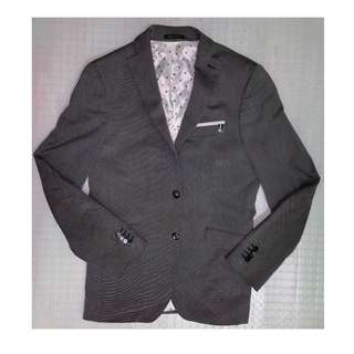 Zara Man Gray Suit