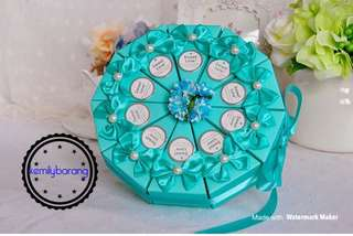 Wedding Candy Box (bow knot)