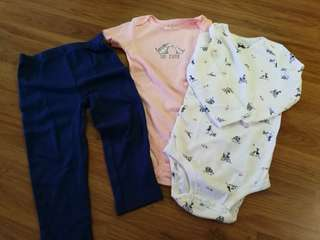 Carters romper set