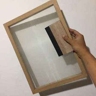 Silkscreen Board & Squigee