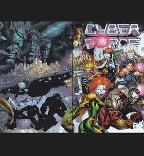 CYBERFORCE #25 (1986) Holografix cover  David Finch - Guest Artist STGCC 2018!